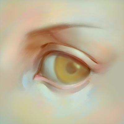 Cómo dibujar ojos anime de mujer, Paso 6
