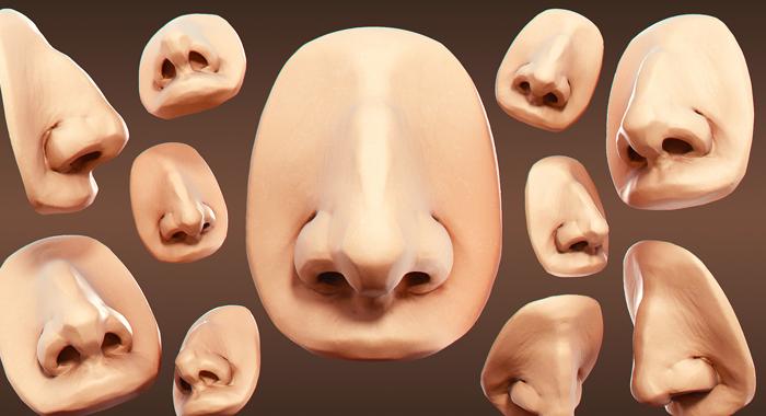 Cómo dibujar una nariz humana realista, paso a paso, Dibucorp