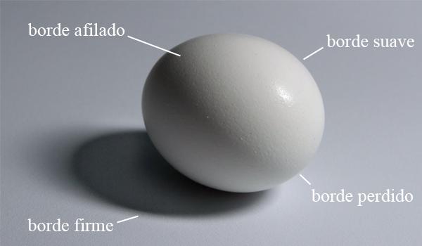 El Borde y transición, tercer elemento básico del dibujo, Dibucorp