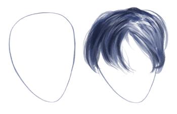 Cómo dibujar cabello realista, paso a paso, Dibucorp