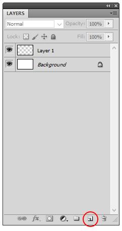 Cómo crear una nueva capa en photoshop, Dibucorp