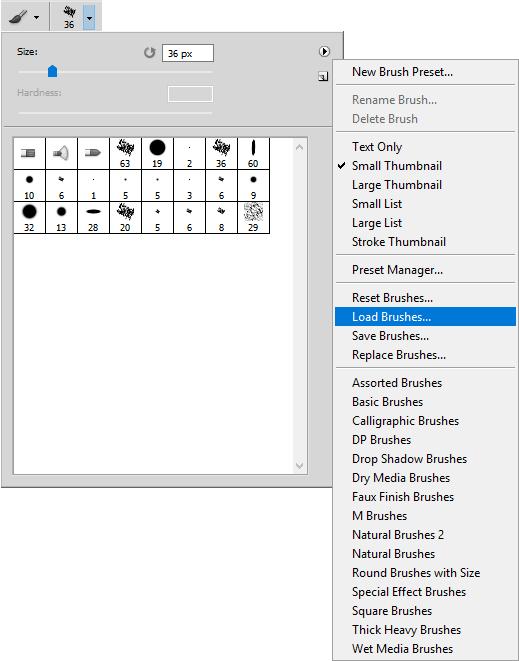 Cómo instalar pinceles digitales de Photoshop, Dibucorp
