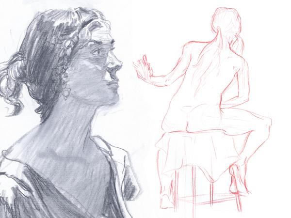 ¿Qué materiales debes usar para dibujar gestos? Dibucorp