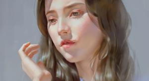 Cómo dibujar y pintar un rostro femenino paso a paso, Dibucorp