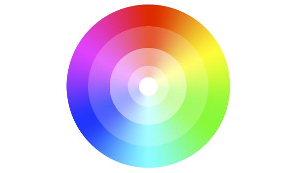 Círculo cromático, teoría del color, Dibucorp