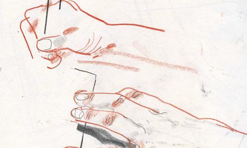 Consejo 2. Aprende a sostener bien tu lápiz de dibujo
