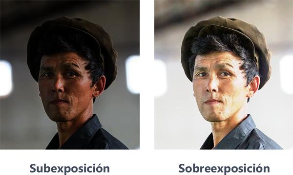 Fotografías sobreexpuestas o subexpuestas, Dibucorp