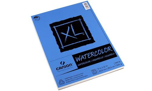 Serie XL de papel de acuarela Canson, Mejores papeles de acuarela, Dibucorp