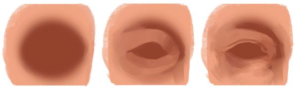 Cómo dibujar y pintar ojos en Photoshop, primeros pasos, Dibucorp