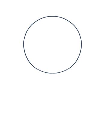 Cómo dibujar un rostro realista de frente fácil paso a paso, Paso 0