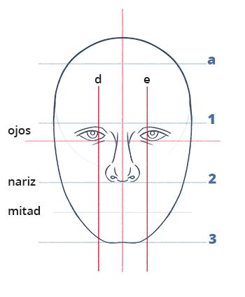 Cómo dibujar un rostro realista de frente fácil paso a paso, Paso 9.1