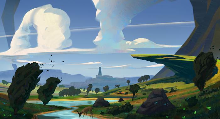 Cómo dibujar un paisaje realista paso a paso, Dibucorp